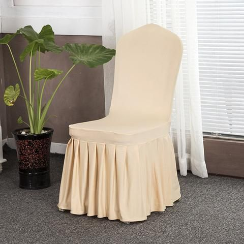 Solid Color Stretch Chair Covers  Dining Slipcovers Kitchen Ideas For Home Easy Cheap Spandex Design Elegant Fabric Simple Birthday Home Decor Ideas Decoration Shops Fabrics Fit Receptions Beautiful DIY Life Fun Accessories Modern Chic Awesome Pictures Interior Design For Sale Buy Online Shops Store Products Shopping Home improvement Housse Couverture de chaise Pas cher Achetez en ligne  USA Canada Australia France Brown