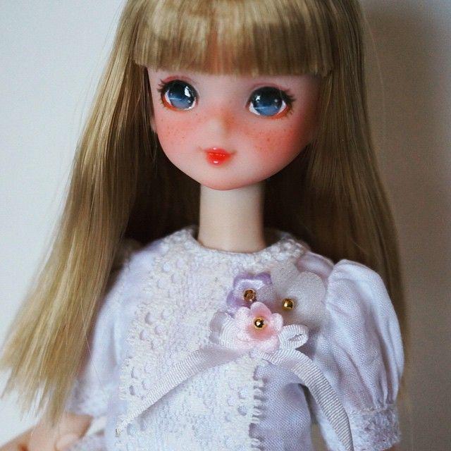 #licca #repaint #repainted #repainting #reprolicca #liccadoll #doll #faceup #customdoll #custom #newlook #ooakdoll