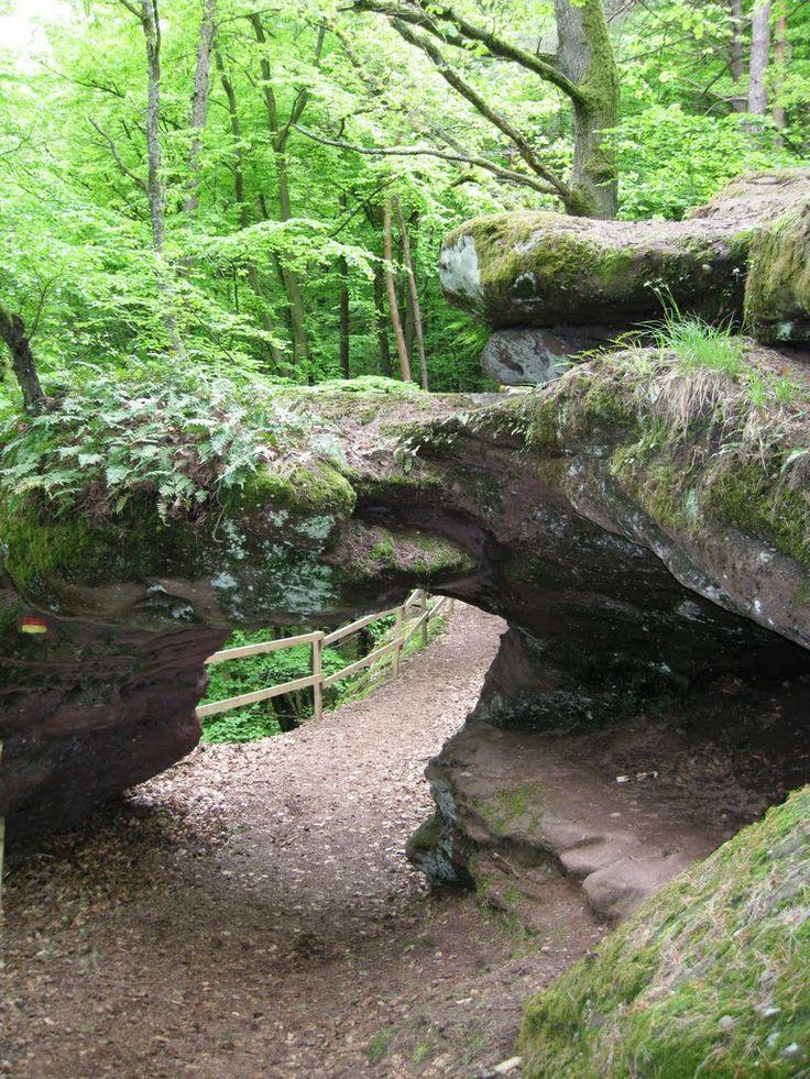 pirmasens germany | das felsentor bei pirmasens