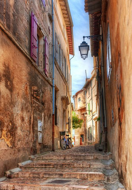 Old streets, Arles, France  can't wait to lose myself in a place like this