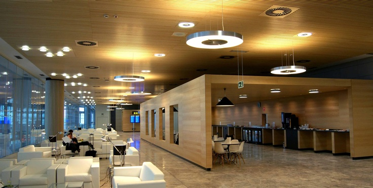 The Sala VIP - Salon Ifach Lounge at Spain Alicante Airport