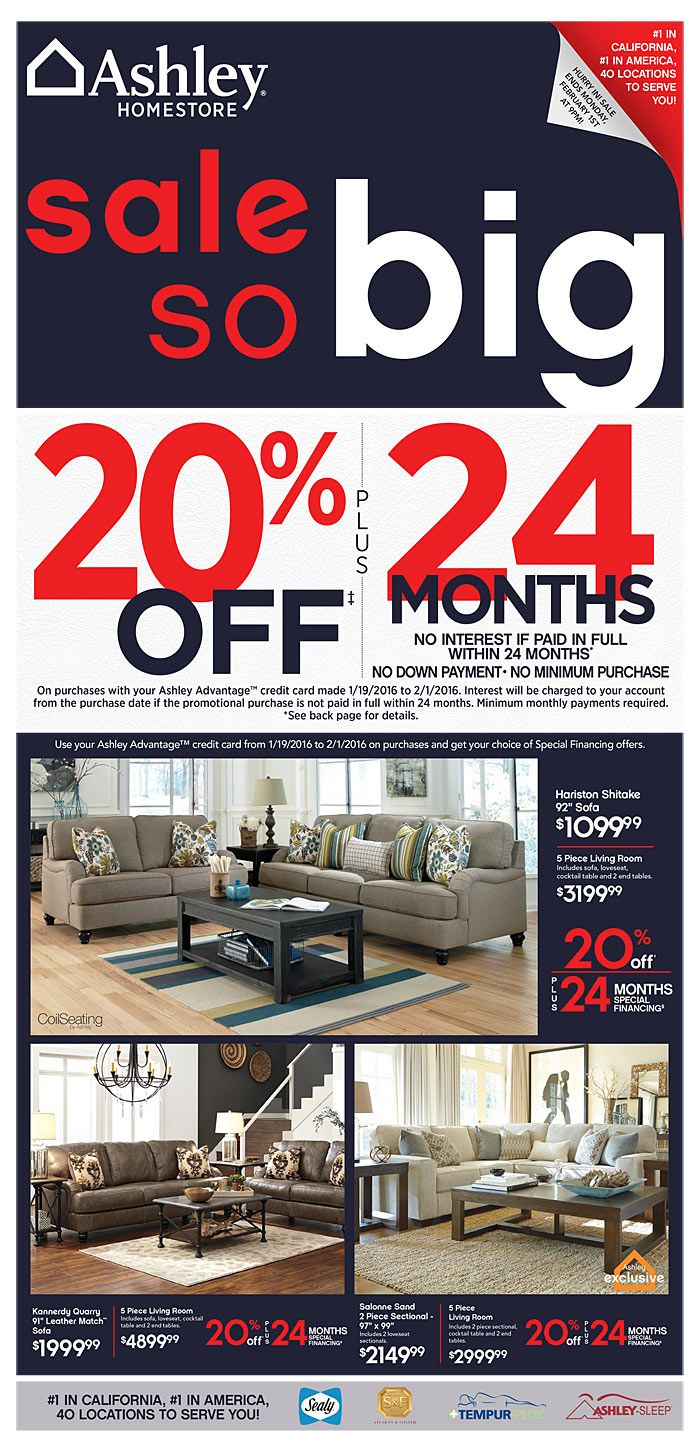 Ashley Furniture Homestore Ad September 29   October Do You Know Whatu0027s In  And Whatu0027s Hot In The Ashley Furniture For This Week? Here Are Ashley  Furniture ...