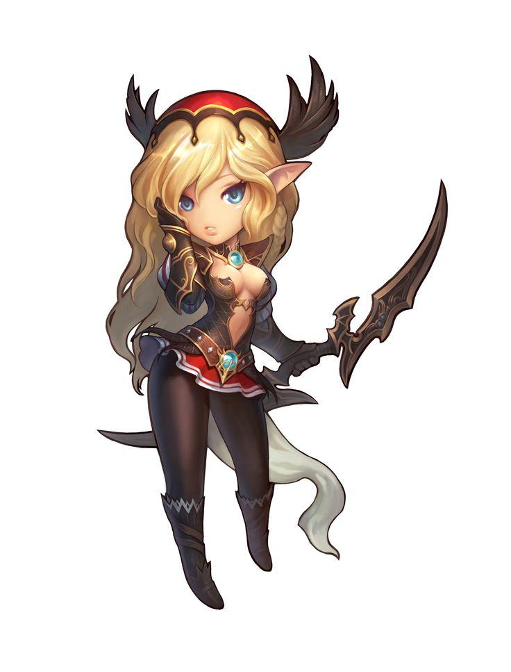 Anime Character 2 : Atlantica online chibi art pinterest