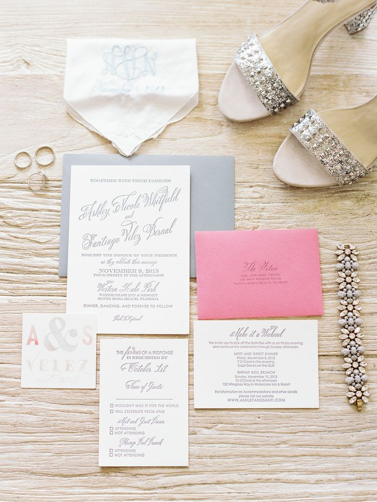 wedding invitations from michaels crafts%0A Photo by Lauren Kinsey Fine Art Wedding Photography via Style Me Pretty