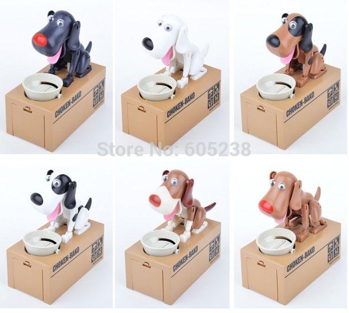 O Envio gratuito de 1 Peça Com Caixa de Varejo Choken Bako Robotic Dog Banco Canino de Quatro Cofrinho Caixa De Dinheiro Para O Cão amante em Caixas de dinheiro de Home & Garden no AliExpress.com | Alibaba Group