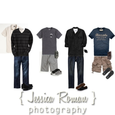 What to Wear for Senior Pics - Boys