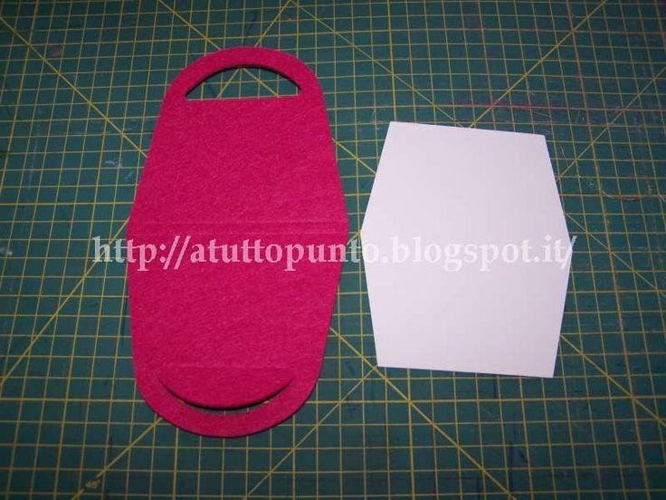 sagoma borsetta da realizzare con cartoncino - Cerca con Google