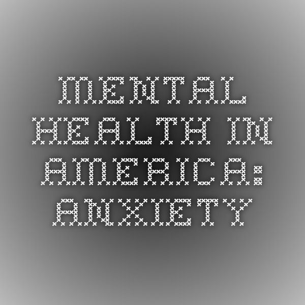 Mental Health In America: Anxiety - a week-long series on Huffington Post