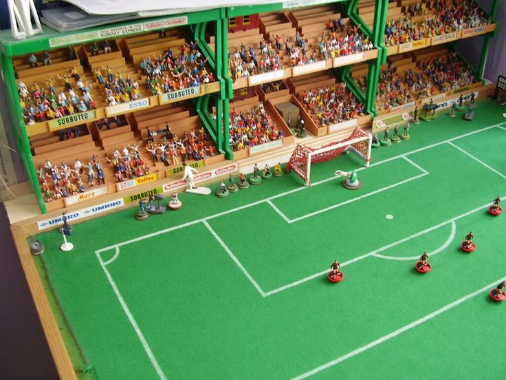 Subbuteo Stadium.