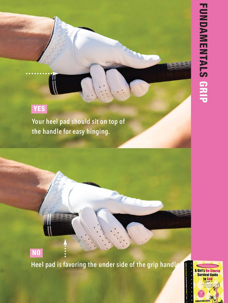 Your heel pad plays a huge role and is absolutely critical for a solid grip.