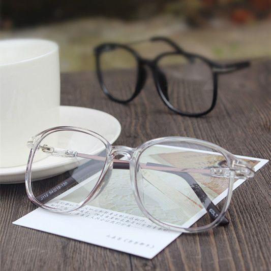 2016 Diseño de Marca de Gran Tamaño Grande de La Vendimia Marco de Anteojos Mujeres Hombres Gafas de Ordenador Óptico montura de gafas Gafas De Grau