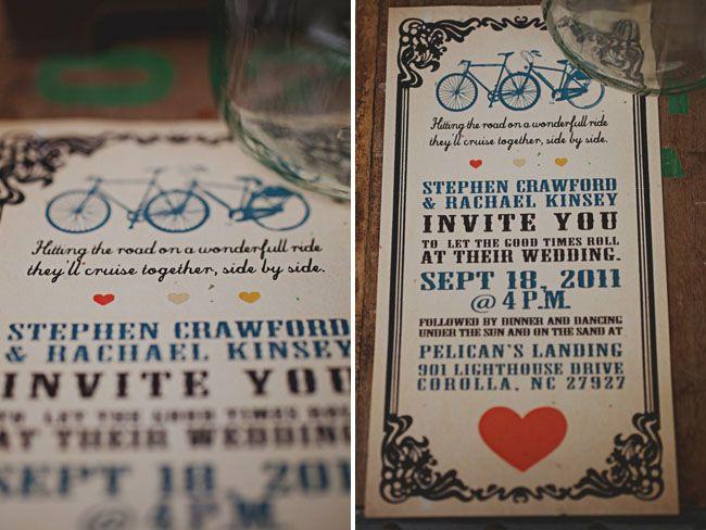 A Handmade Outer Banks Wedding: Rachael + Steve via Green Wedding Shoes