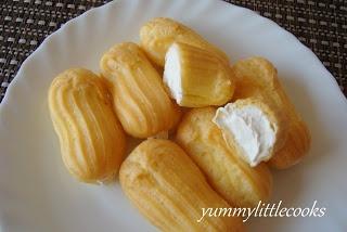 yummylittlecooks: Durian Puffs
