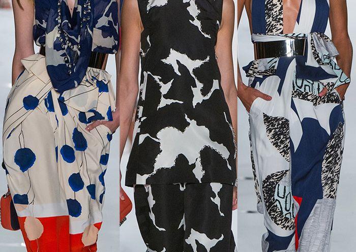 New York Fashion Week   Spring/Summer 2013   Print Highlights   Part 2 | catwalks: Floral Silhouette
