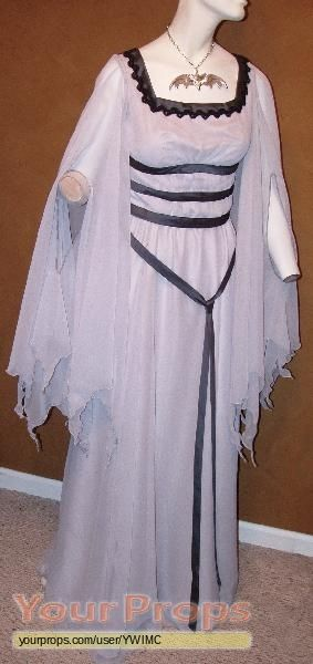 The Munsters (TV) (1964) costumes wardrobe Lily Munster gown