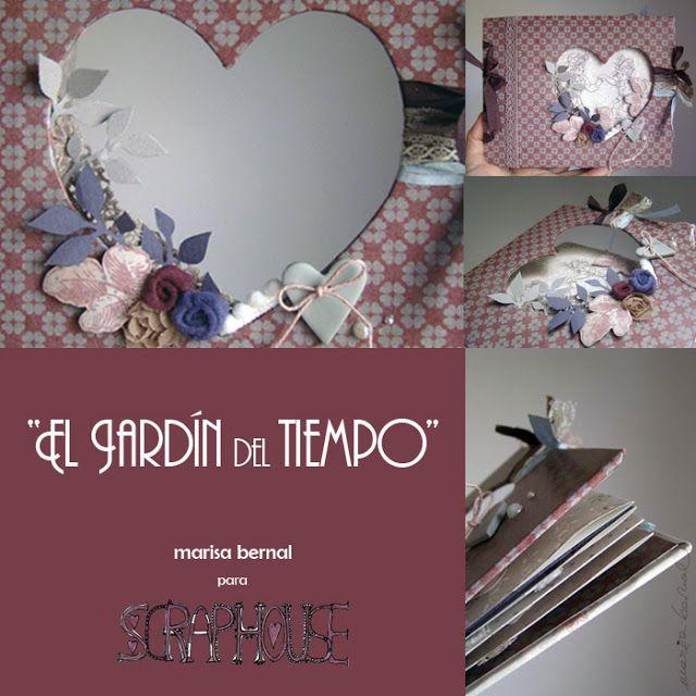 """naltin (el blog de marisa bernal): talleres 2012 - Creativa Barcelona - """"el jardín del tiempo"""" -  colección de papeles """"el jardín del tiempo"""""""