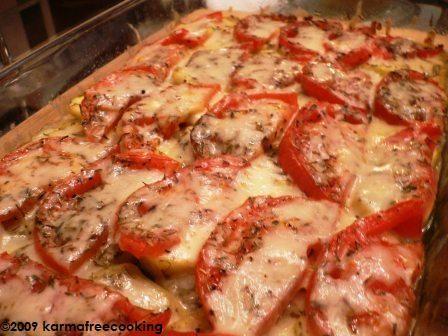 Tian de Vegetales - KarmaFree Cooking   #karmafree #glutenfree