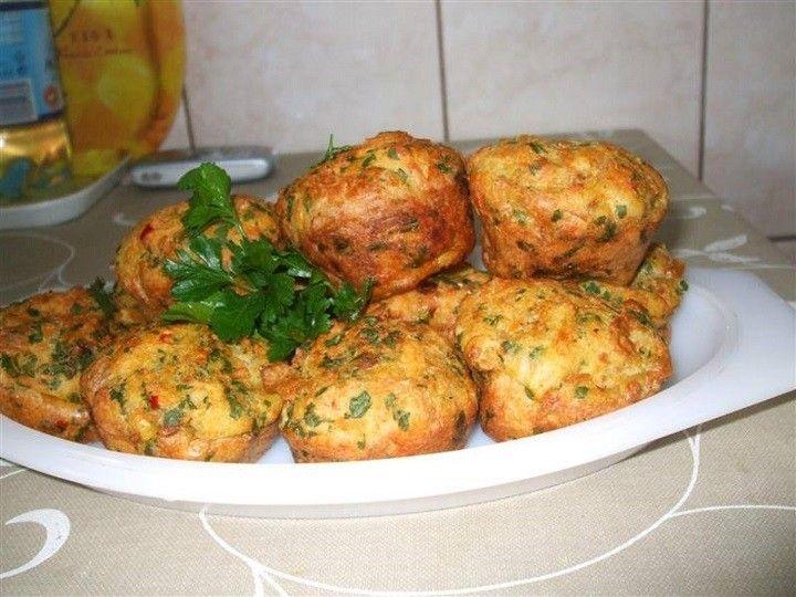 Töltelék muffin sütőben sütve - MindenegybenBlog