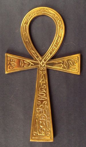 ANKH - Ancient Egyptian Hiero-glyphic symbol for eternal life >> Marie Laveau's House of Voodoo