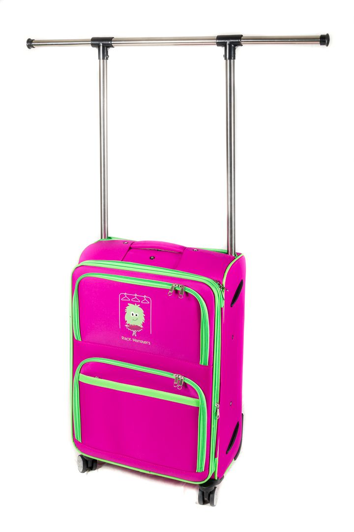 Introducing the newest most innovative design for rolling dance bags with garment rack.  2017 brings new ideas, better space management and a fail safe rack system. 3 colors available. Hot Pink, Purple and Black. All trimmed with a lime green on the exterior and interior.  8 large pockets and compartments to store all of your accessories and shoes. 34 inch expandable rack. Spinner locking wheels. Protective rear and side rails. One inch expandable space.Water resistant. $140.00 plus…