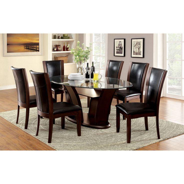 Best 25 Glass Top Dining Table ideas on Pinterest Glass  : afa337787a1061b7668aa73ed34f3f5b from www.pinterest.com size 736 x 736 jpeg 73kB