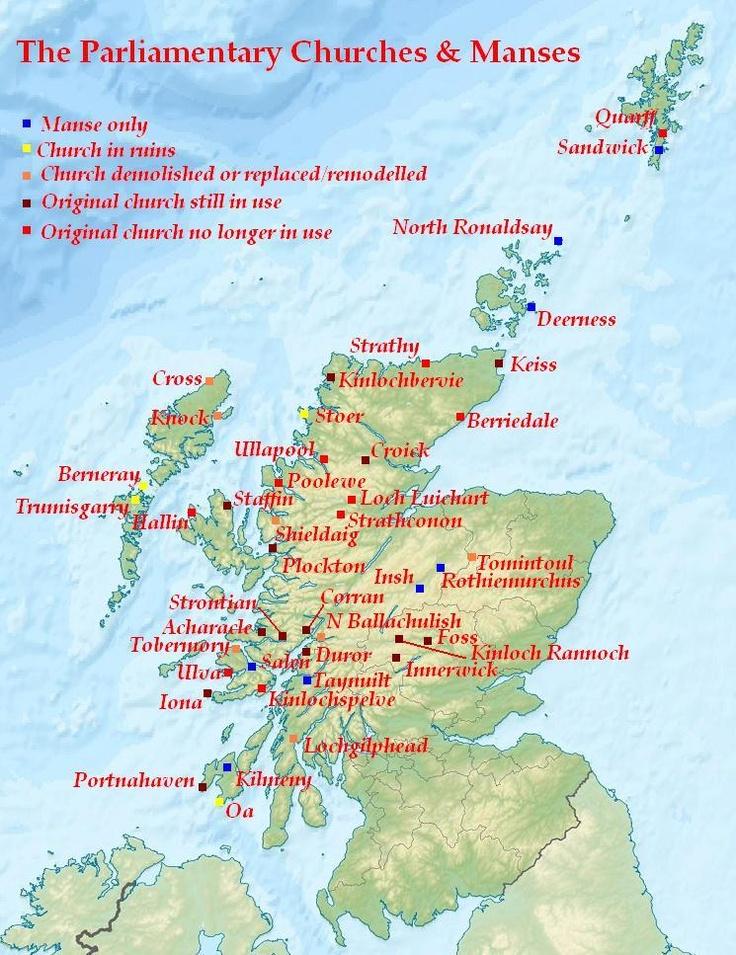 Scottish islands - Thomas Telford designed - Parliamentary Churches