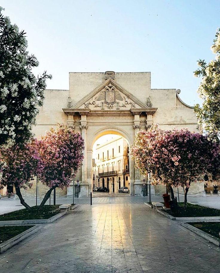 È possibile innamorarsi a prima vista di un luogo come di una persona. #Lecce, Puglia, Italy