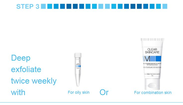 DR MCCAFFERY'S ACNE HOMECARE PROGRAMME - 8 Steps for a clear skin STEP 3 - Deep exfoliate twice weekly