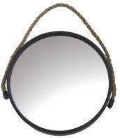 25 beste idee n over touw spiegel op pinterest strand for Spiegel rond leer