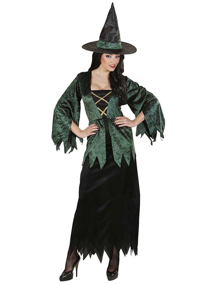 Disfraz de bruja de campo para mujer | Comprar