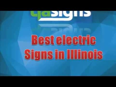 Want to find best electric signs in Illinois? Tfa Signs is one of the most experienced company that brings you the best of the best signage to satisfy your business needs. Our quality is top notch and your satisfaction is guaranteed. Visit our site for more info or details. http://tfasigns.com