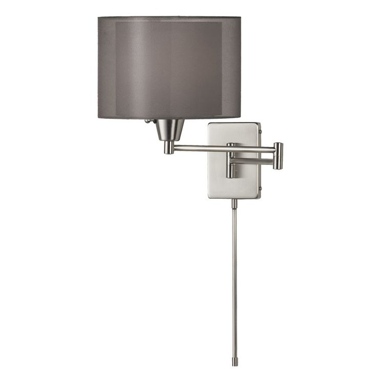 dainolite swing arm wall lamp