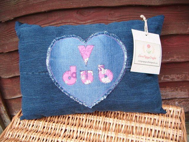 LOVE MY DUB cushion £20.00