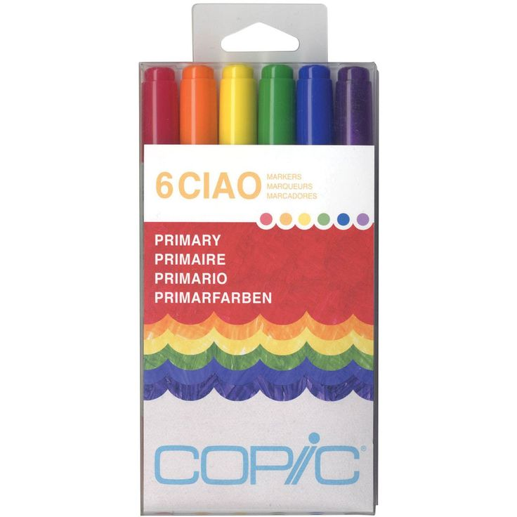 Copic Ciao Sets 6/Pkg - Primary*