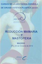 """La Dra. Mª Encina Sánchez  y el Dr. Juan Luis Morán viajan a Madrid para asistir al Curso de """"Reducción mamaria y mastopexia"""" los próximos días 25 y 26 de octubre de 2013 que organiza la Asociación Española de Cirugía Estética Plástica (AECEP)."""