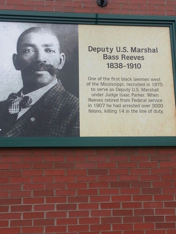 US Marshal Bass Reeves, once a slave, but died revered as a US Marshal!