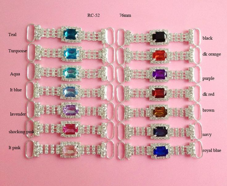 Free shipping acrylic rhinestone connector 20PCS can choose colors RC-52