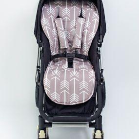 Grey Arrows Pram Liner & Harness Covers