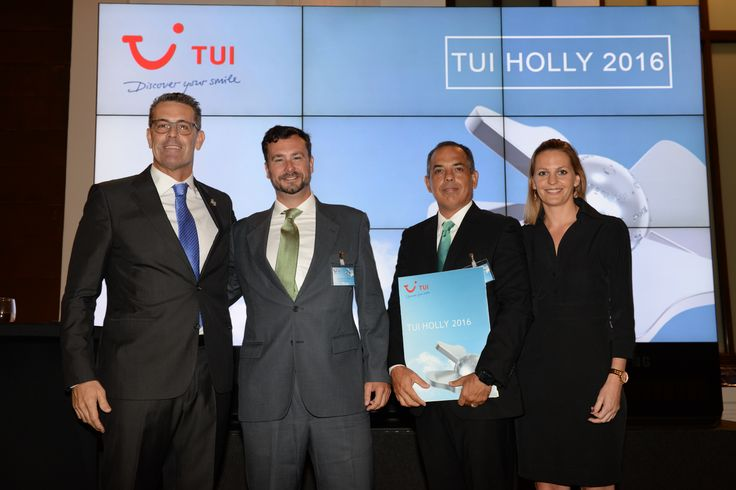 #CordialMogánPlaya receives the TUI Award 2016!