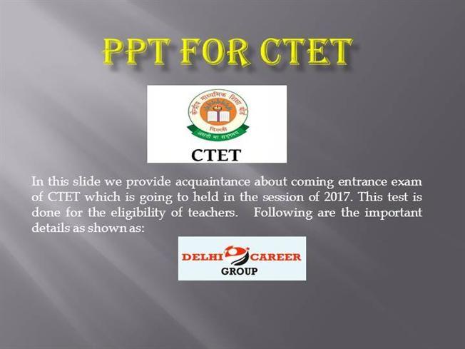 CTET Entrance Exam Coaching In Chandigarh