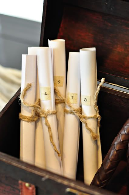 Maps provide a fun way to direct your guests to their assigned table for the reception.