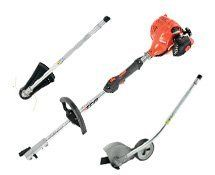 Echo PAS-225VP 21.2cc PAC Combo Pack > INCLUDES POWER SOURCE INCLUDES STRING TRIMMER ATTACHMENT INCLUDES EDGER ATTACHMENT