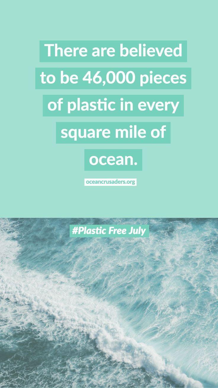 Plastic Free July Plastic Facts Zero Waste Plastic Free July