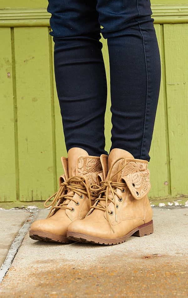 You're tough, but sweet. And your taste in boots? Impeccable.