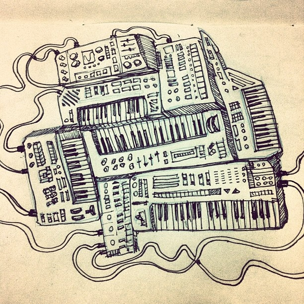 #sketchbook #draw #music - @zutra- #webstagram