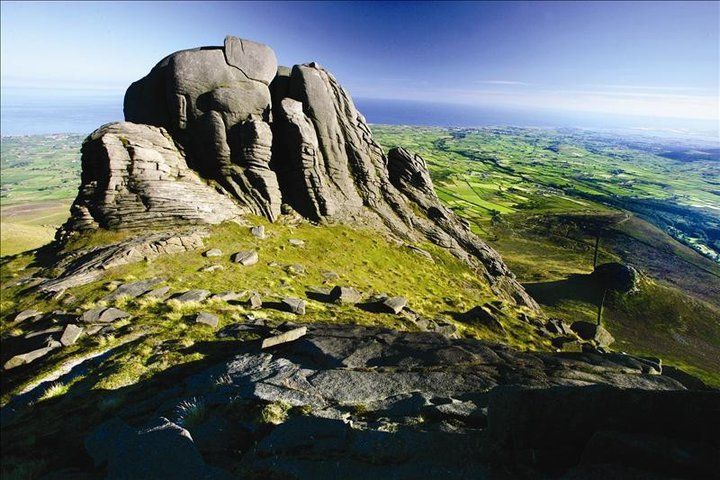 The Mournes (in County Down, Northern Ireland) - these mountains were the inspiration for Belfast-born C.S. Lewis's magical land of Narnia.