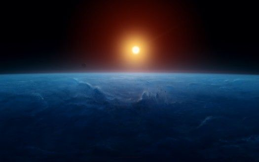 Sunrise Horizon Earth 4K 8K
