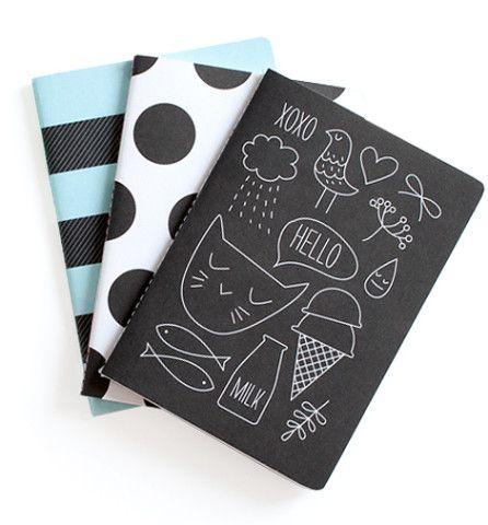 el cuaderno, el bloc, nerga