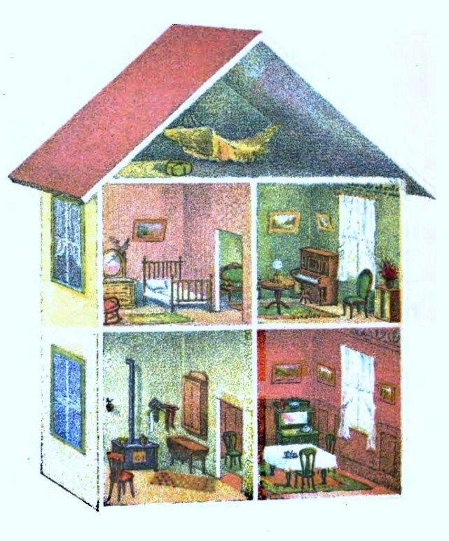 Line Art Dollhouse : Best dollhouse images on pinterest