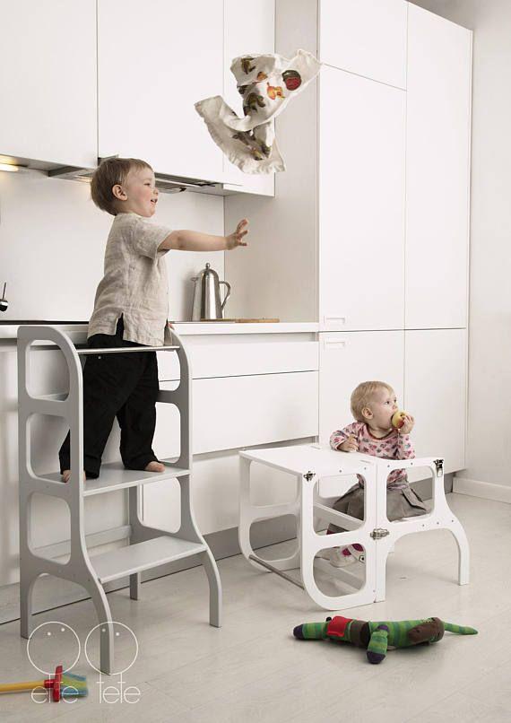 Little helper toren peuter keuken opstapje Montessori leren
